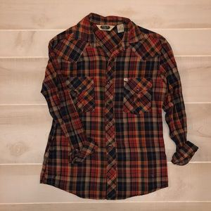 Salt Valley Western Plaid Flannel